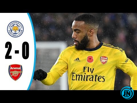Leicester City vs Arsenal 2-0 – All Highlights & Goals